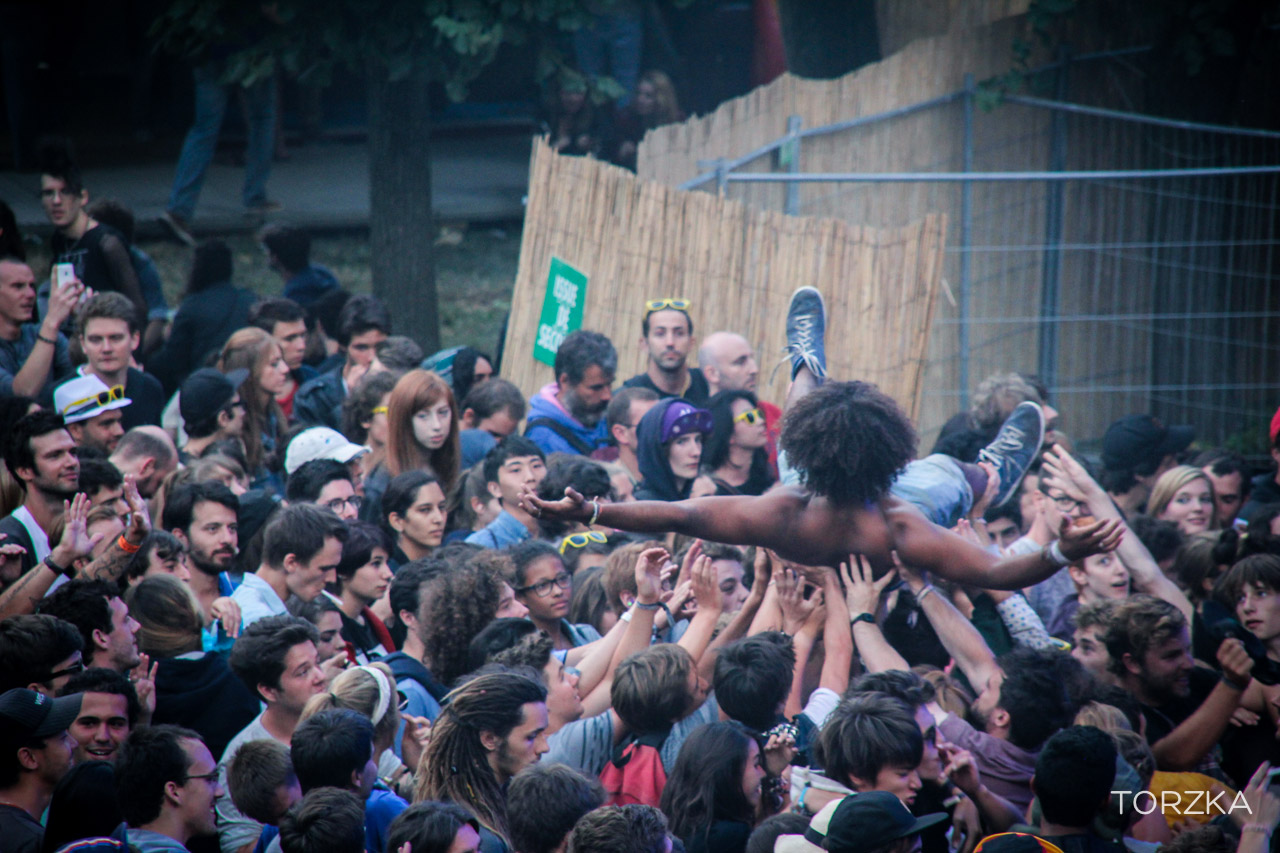Slam à Rock en Seine